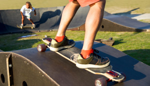 Skateboard Pumptrack